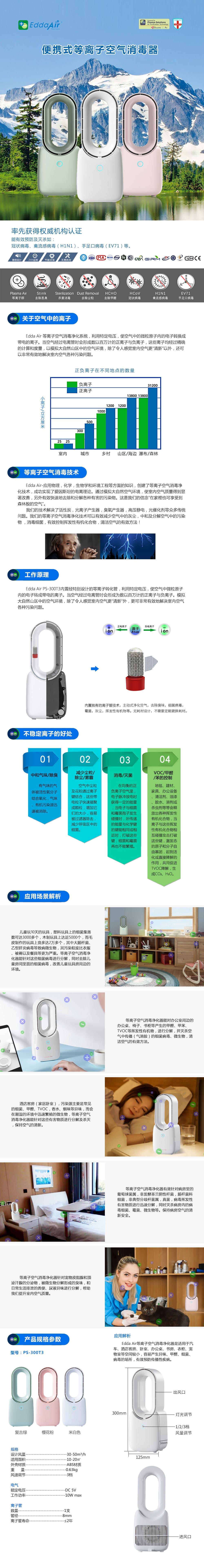 便携式空气消毒机