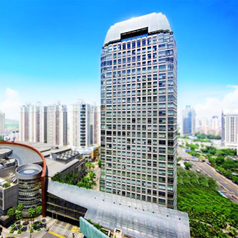 华润大厦办公楼新风除异味空调净化项目
