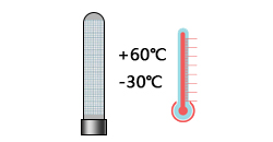 电离管的工作温度是多少?